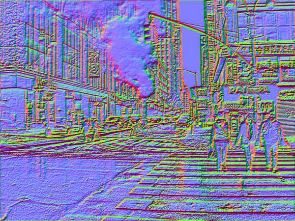 Mapa de textura para imagen inversa