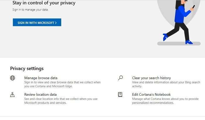 ¿Bing es mejor que la búsqueda de privacidad de Google?
