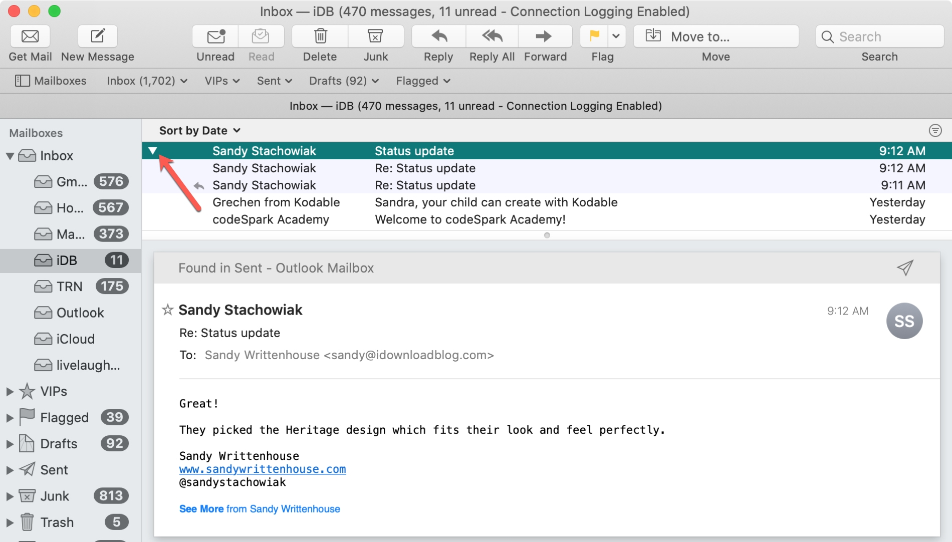 Mailpil expande conversaciones