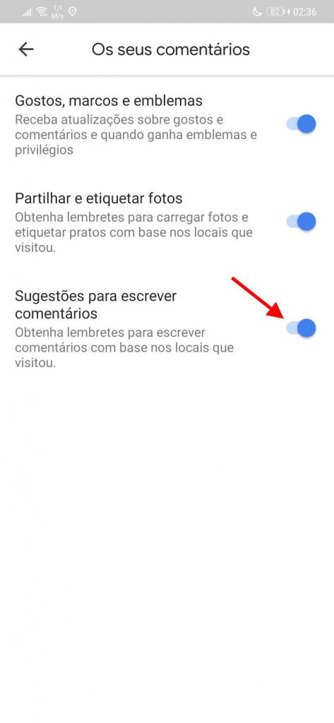 Google Maps revisa las alertas de Android