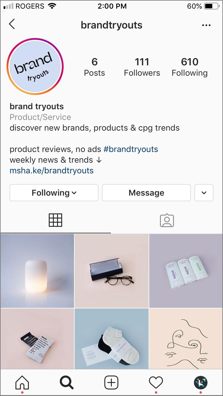 instagram hashtag bio