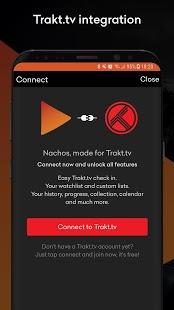 Nachos for Trakt.tv - Seguimiento de películas y programas de televisión Captura de pantalla