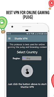 VPN: Shuttle VPN, VPN gratis, Ilimitado Turbo VPN Captura de pantalla
