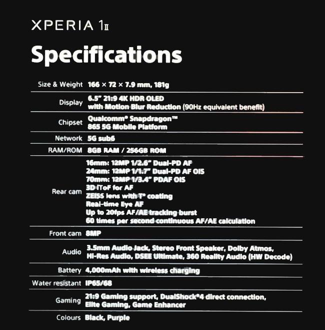 Sony Xperia 1 II - 2
