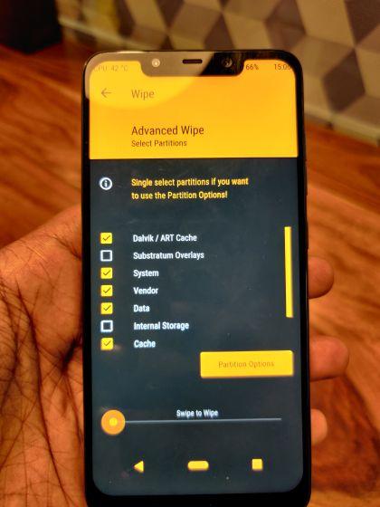Instalar Android 11 GSI en cualquier dispositivo de proyecto Treble 2