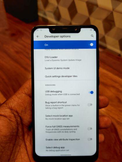 Instalar Android 11 GSI en cualquier dispositivo de proyecto Treble 4