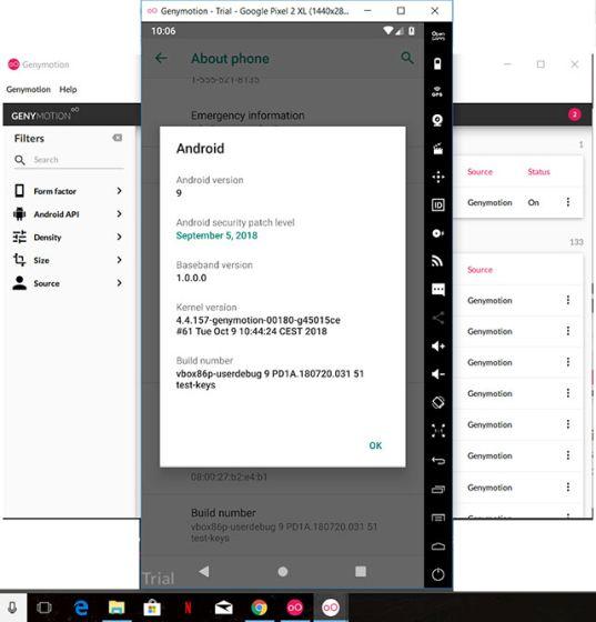 6. Los mejores emuladores de Android de Genymotion para Windows