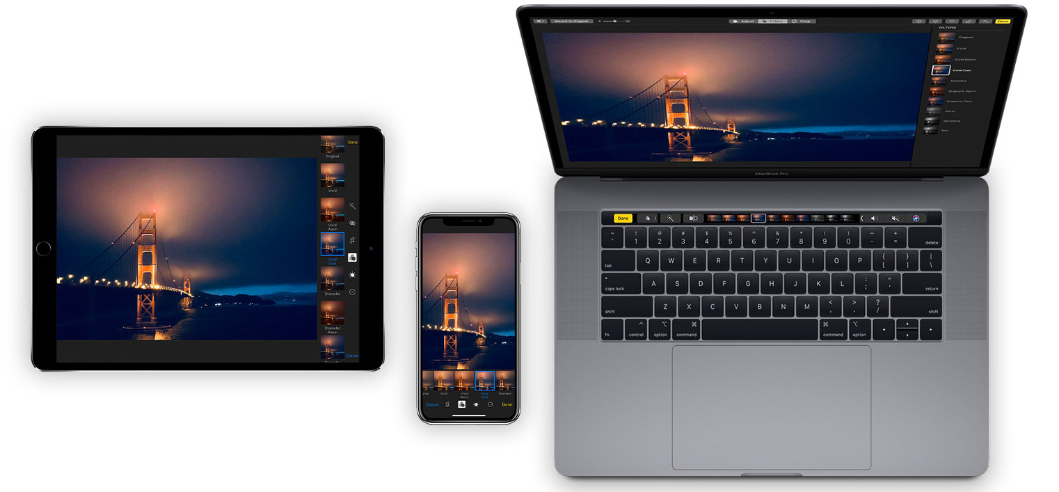 Atajos Fotos iPad