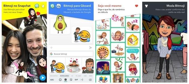 Crea avatar con Bitmoji