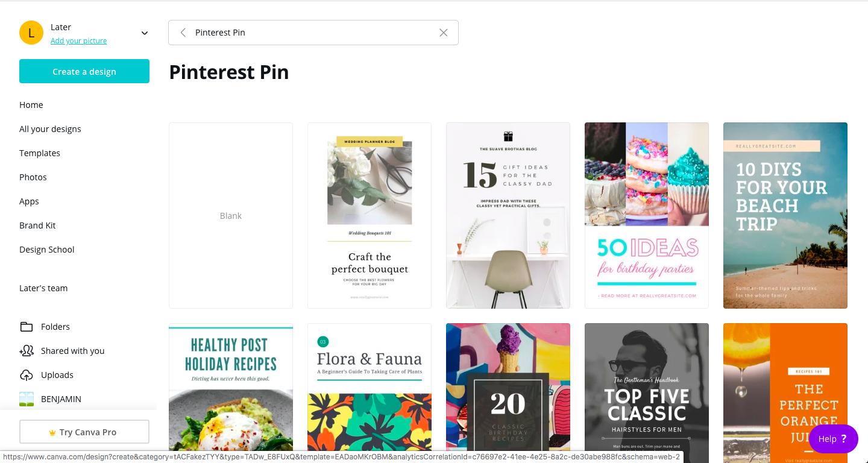 paño Pinterest plantillas