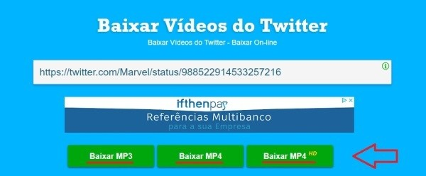 Descargar video Twitter