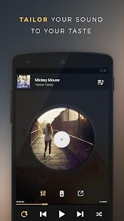 Captura de pantalla de Equalizer + Pro (reproductor de música)