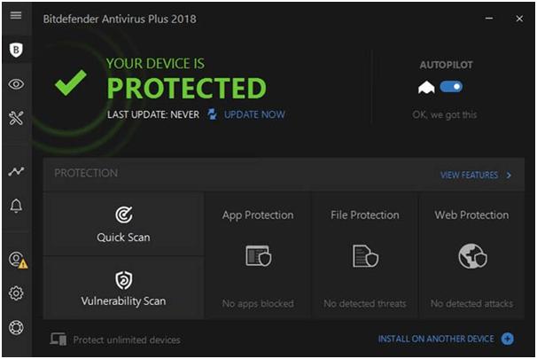 Edición gratuita de BitDefender Antivirus