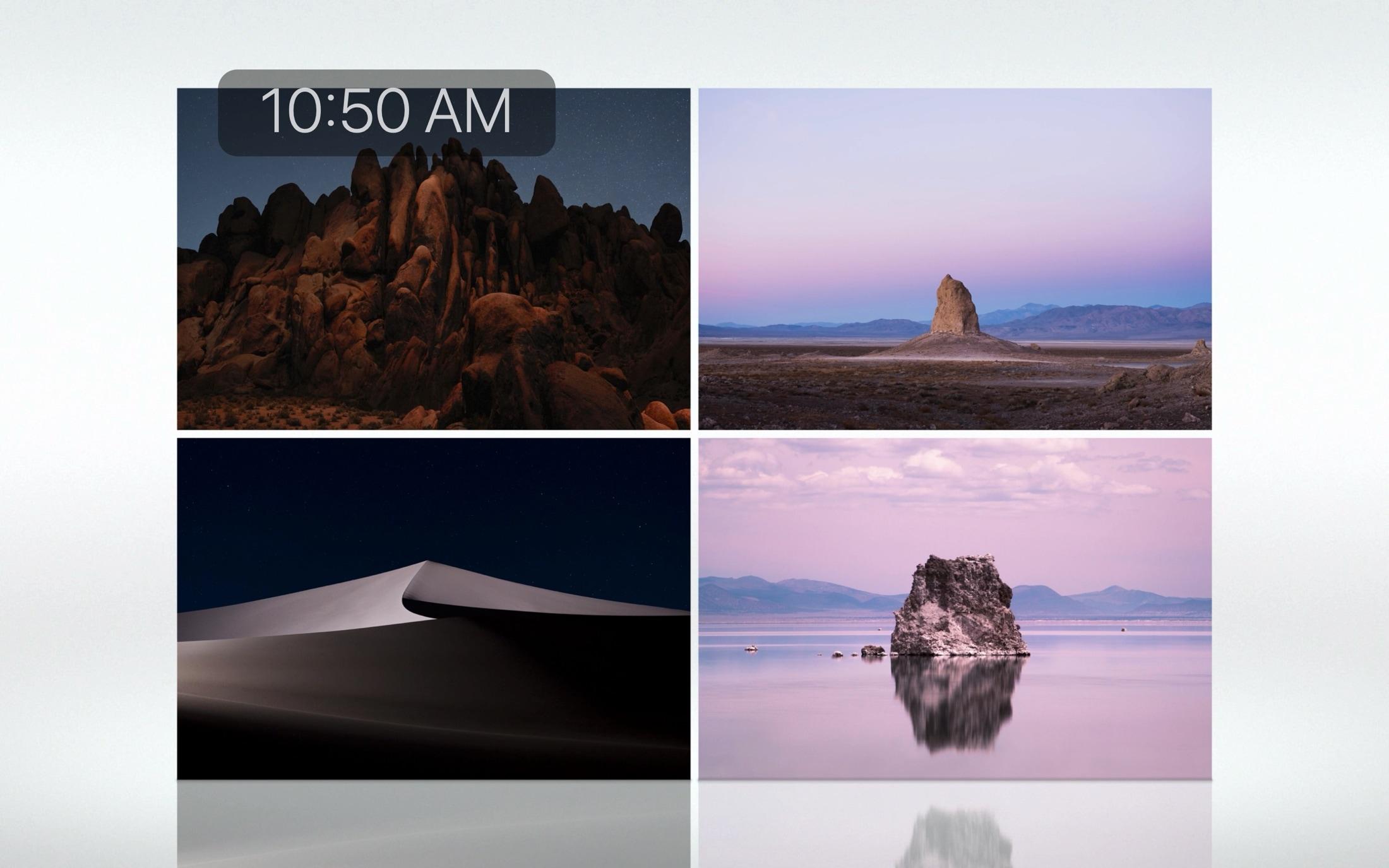 Recuperación de salvapantallas de Landscape for Mac
