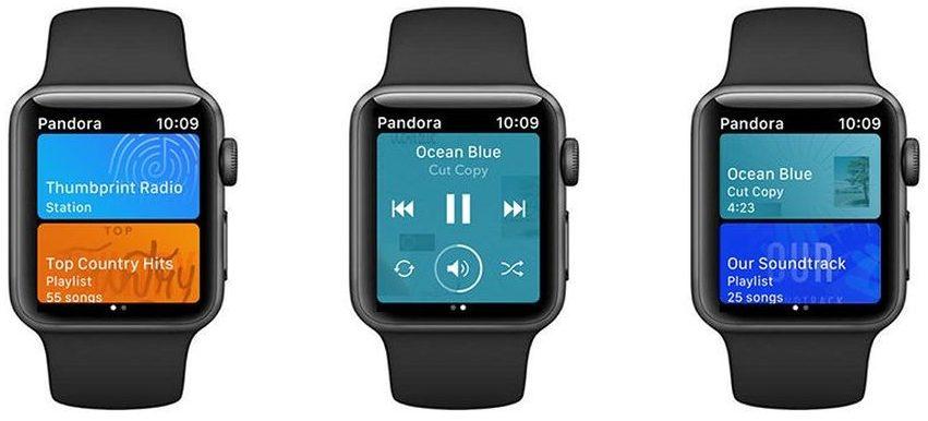 Ahora puedes transmitir Pandora en Apple Watch sin un iPhone