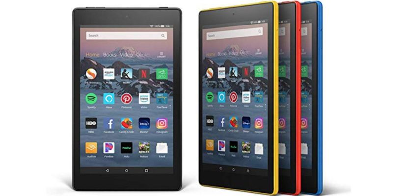 Deal Fire Hd 8 Se muestra la tableta