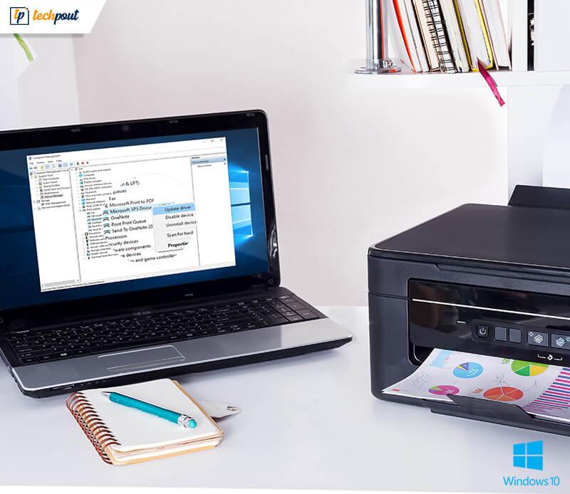 Cómo actualizar los controladores de impresora en Windows 10