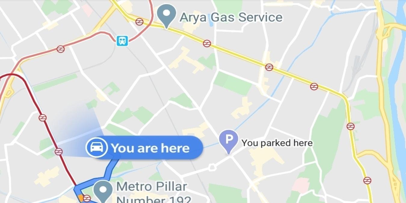 Cómo obtener alertas de Google Maps cuando se conduce en la dirección incorrecta