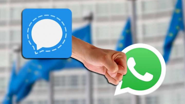 Comisión Europea: los empleados deben usar Signal en lugar de WhatsApp