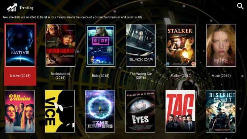 Después de instalar Morphix TV, te darás cuenta de lo sencillo que es reproducir una película o un programa de televisión.