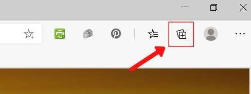 Icono de Microsoft Edge Collections