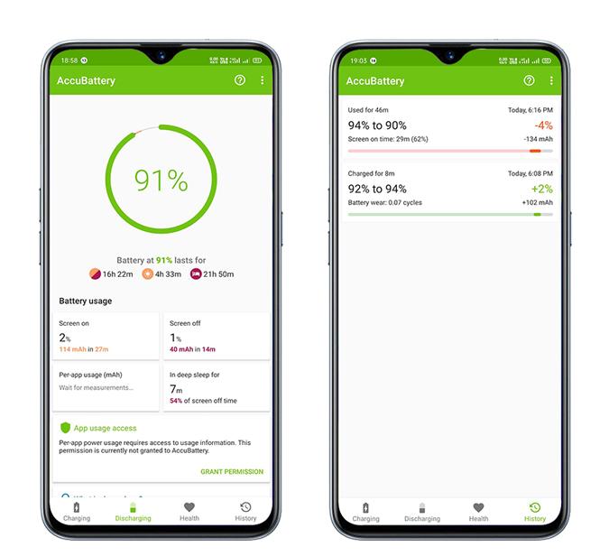AccuBattery Verifique el estado de la batería - Verifique el estado de la batería en Windows y Android