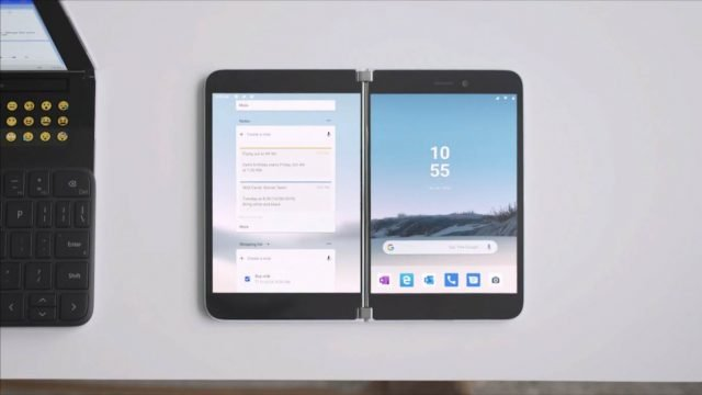 El video filtrado revela la función de apariencia Surface Duo