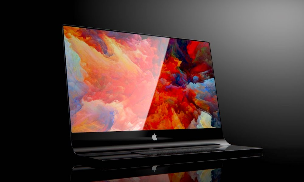 Gorgeous Concepts Show Apple'S iMac gjord av ett glasskiva 1