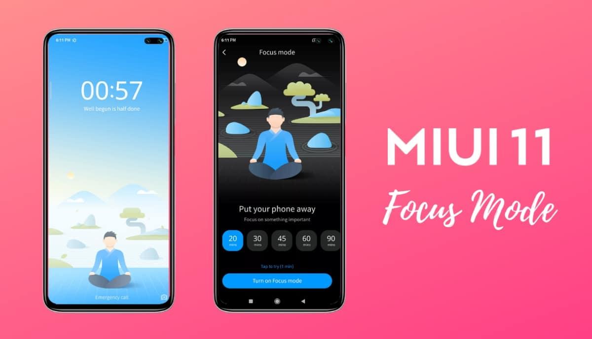 Focus Mode MIUI 11
