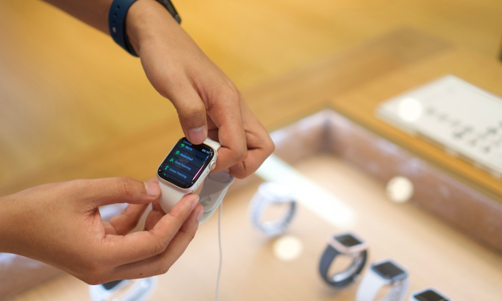 Platt, gestavkännande digitala kronor kan komma till framtiden Apple Klockor 1