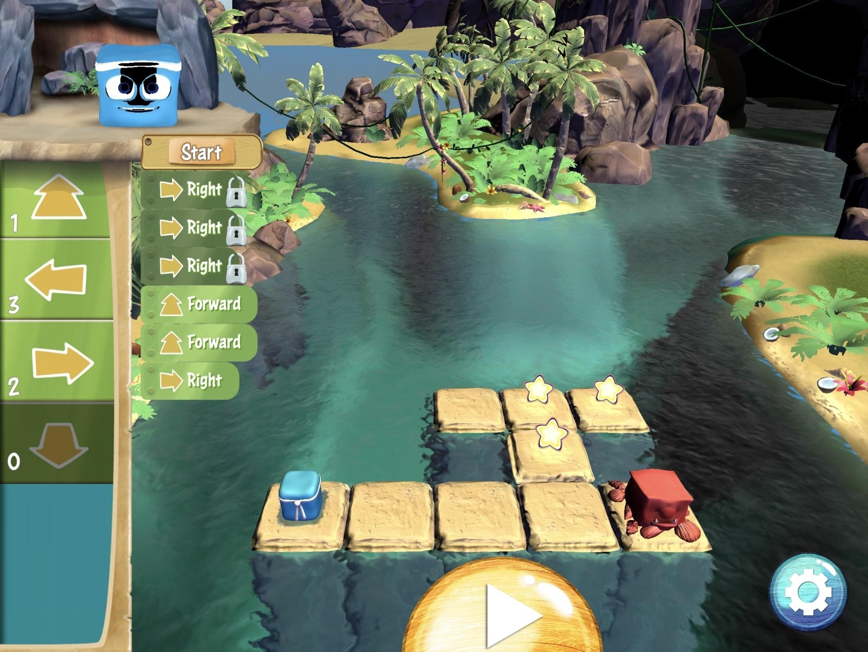 Aplicaciones de codificación para niños - Box Island