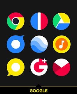 Captura de pantalla de Simplicon Icon Pack