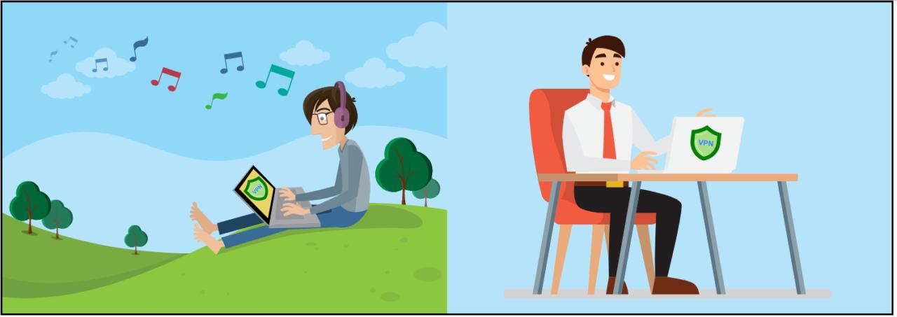 VPN empresarial versus uso personal: ¿cuáles son las diferencias?