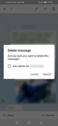 borrar mensaje