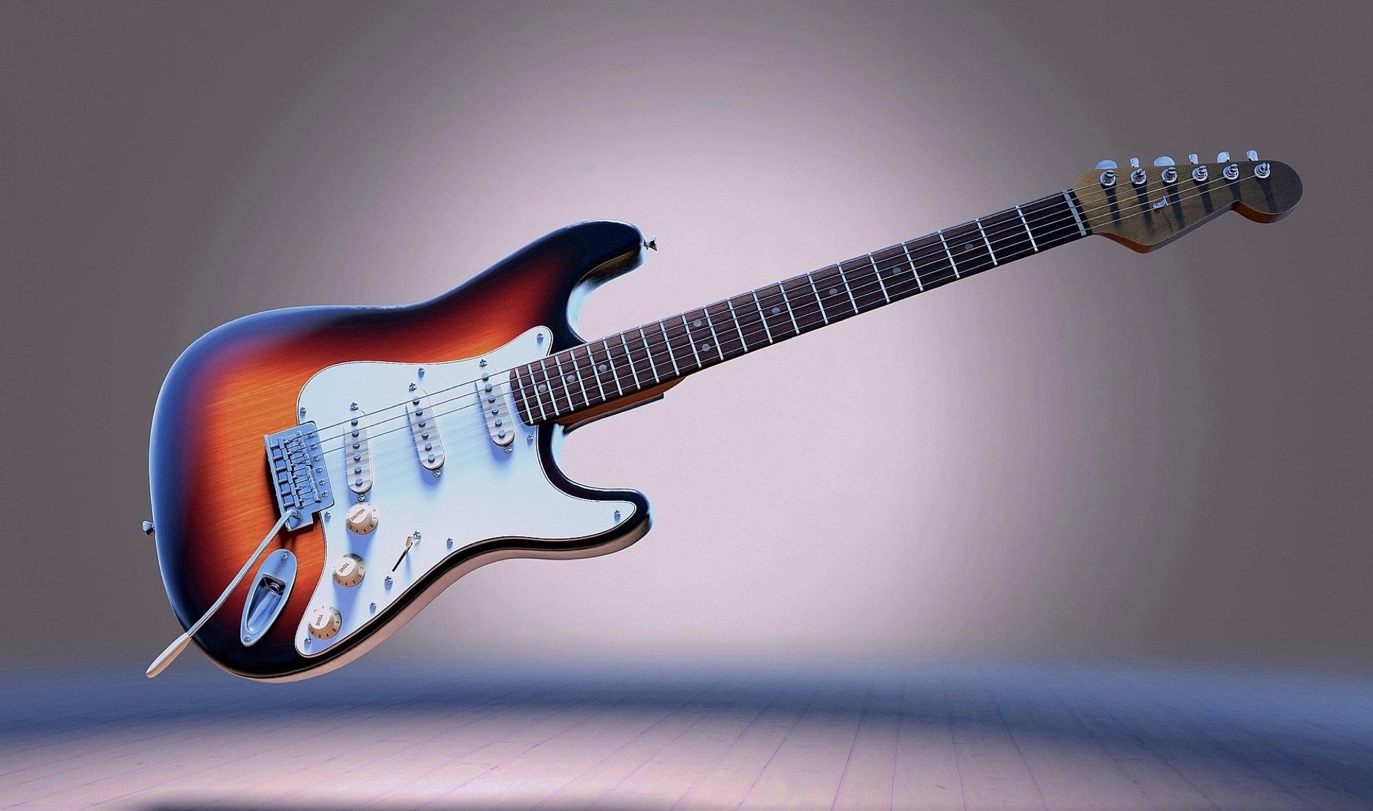 Apple    Televisores para aprender a tocar la guitarra - guitarra eléctrica