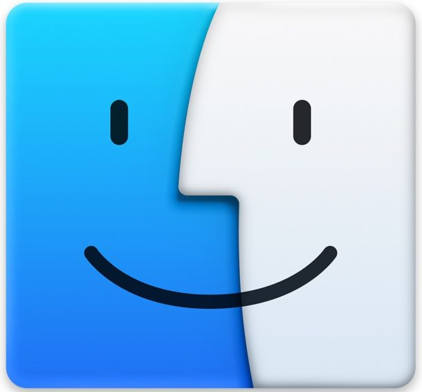 Icono de Finder en Mac