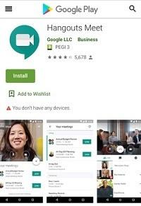 Hangouts de Google vs Meet Hangouts Meet