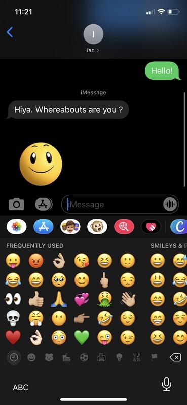 Cómo deshabilitar las pegatinas de Memoji en iPhone