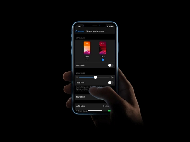 How to Toggle Dark Mode from Control Center