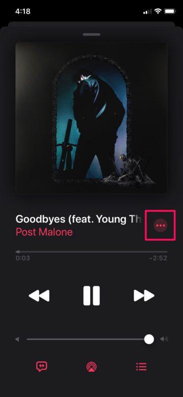 Cómo ver la letra completa Apple Música