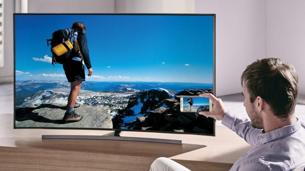 Terhubung ke TV dengan Samsung J5! 1
