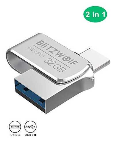 ▷ USB Tipe C dan USB 3.0, Koneksi ganda dalam memori 64 GB + kupon diskon ini 1