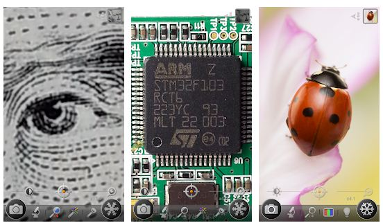 Android / iPhone üçün ən yaxşı mikroskop tətbiqləri