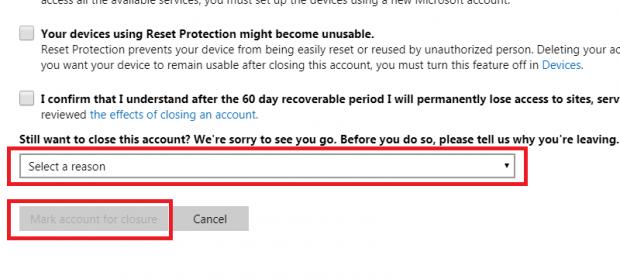 cómo eliminar tu cuenta de skype paso 10