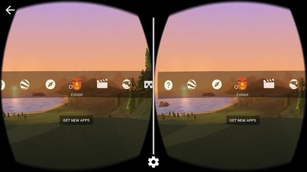 Realidad virtual de realidad virtual con Google Cardboard