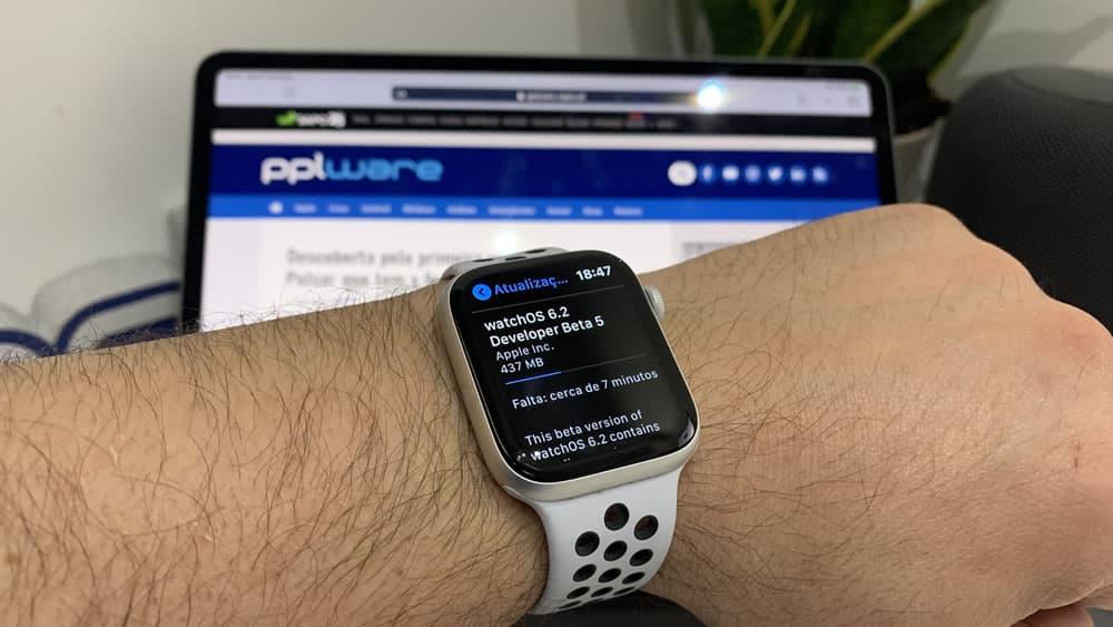 Apple lanza beta 5 de watchOS 6.2 para Apple Watch