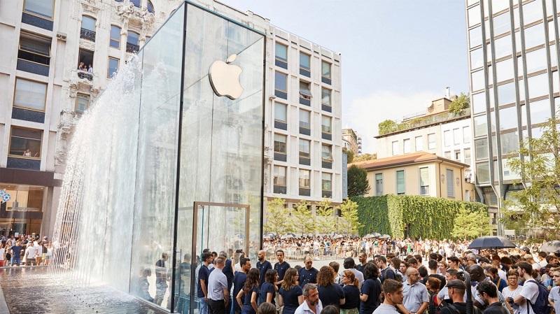 Apple cierra todas las tiendas en Italia indefinidamente debido a COVID-19