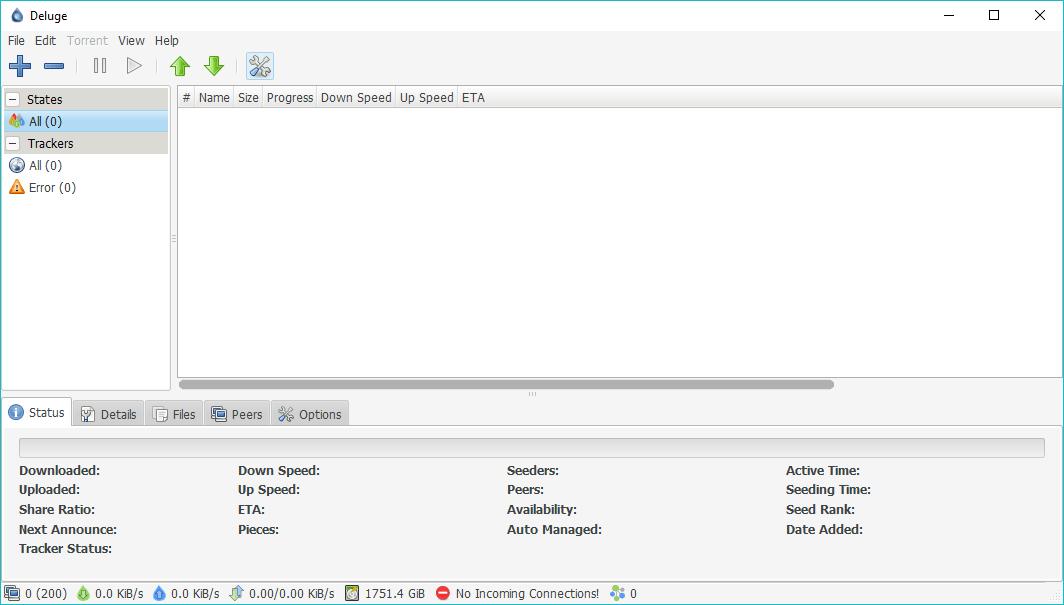 Meilleur client torrent Windows 8    Déluge