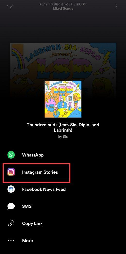 Spotify şarkıları nasıl eklenir Instagram tarih