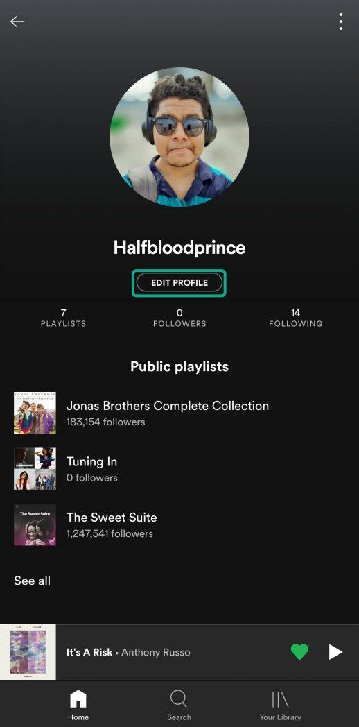 Spotify istifadəçi adınızı necə dəyişdirmək olar